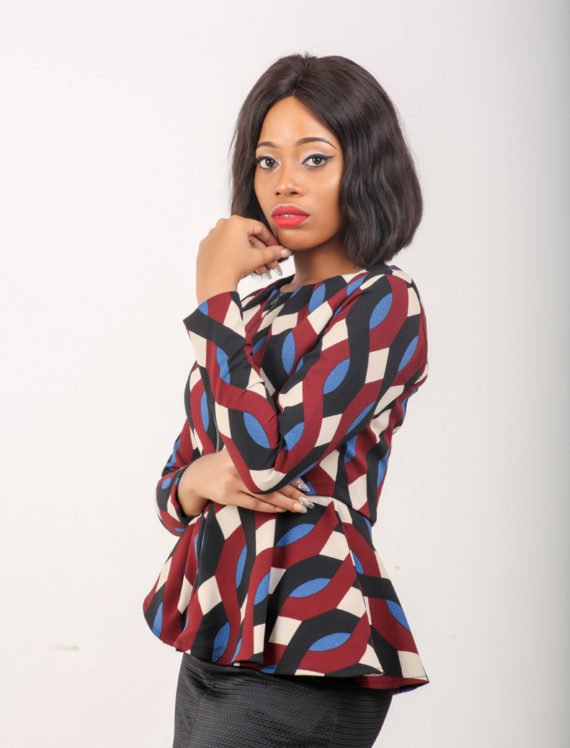 The Multi Print Peplum Jacket 5