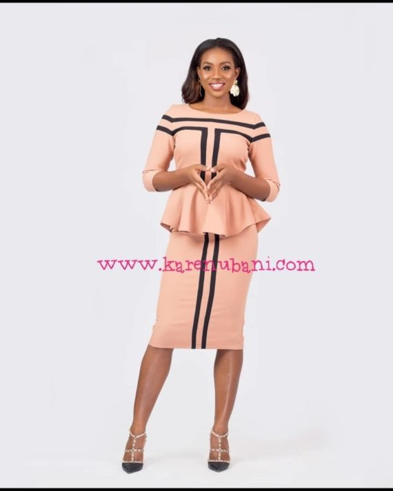 The Stella Structured 2 piece Set in Nude 1