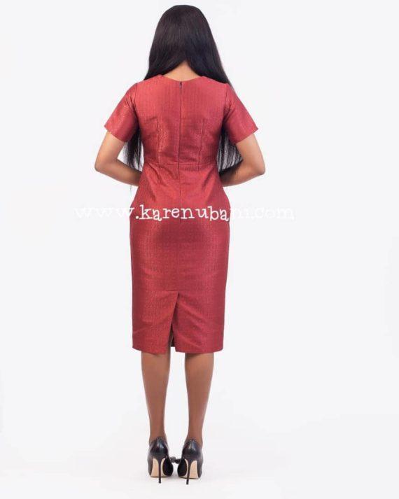 The Zara Jacquard Dress 4