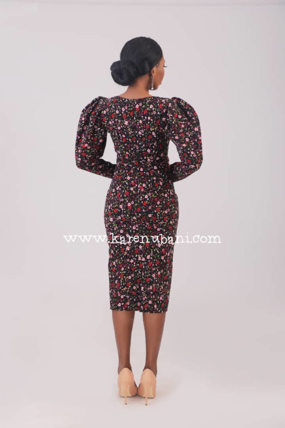 The Alexis Vintage Pencil Dress 3