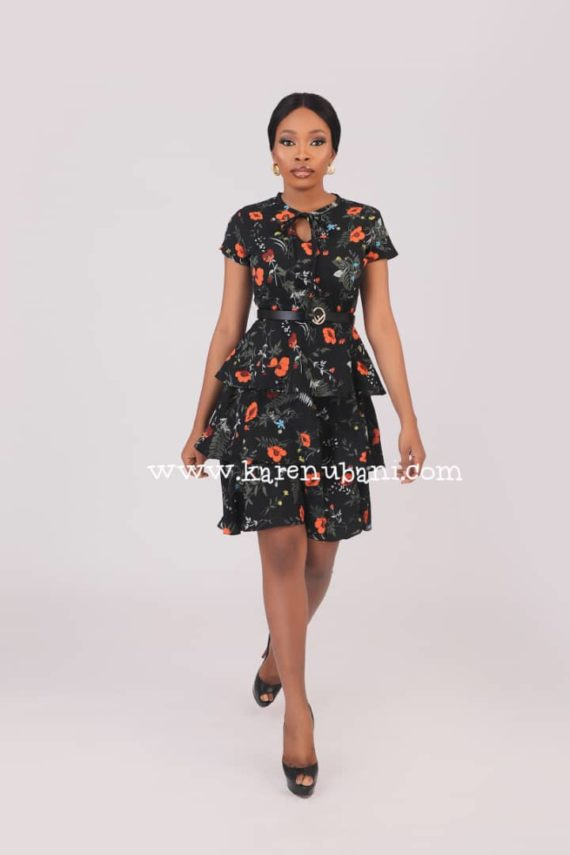 Three Tier Floral Dress 2
