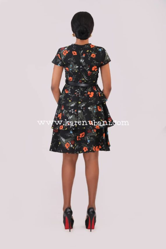 Three Tier Floral Dress 5