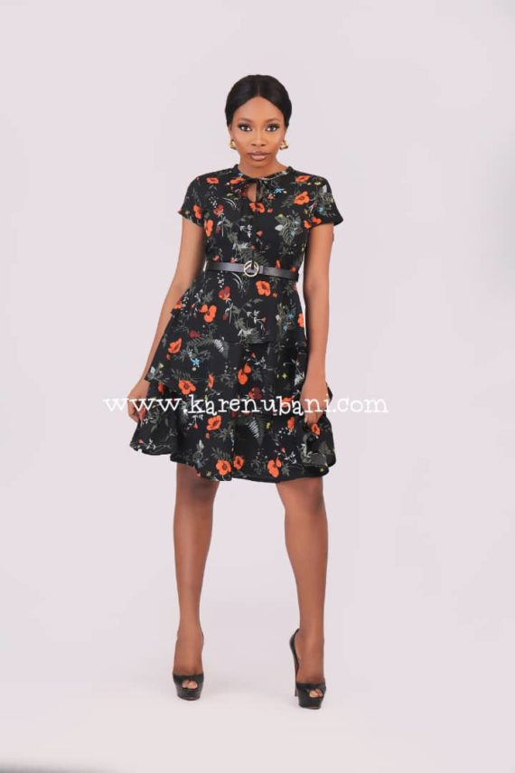 Three Tier Floral Dress 4