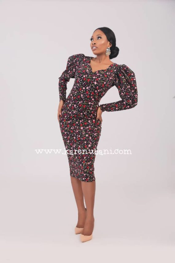 The Alexis Vintage Pencil Dress 1
