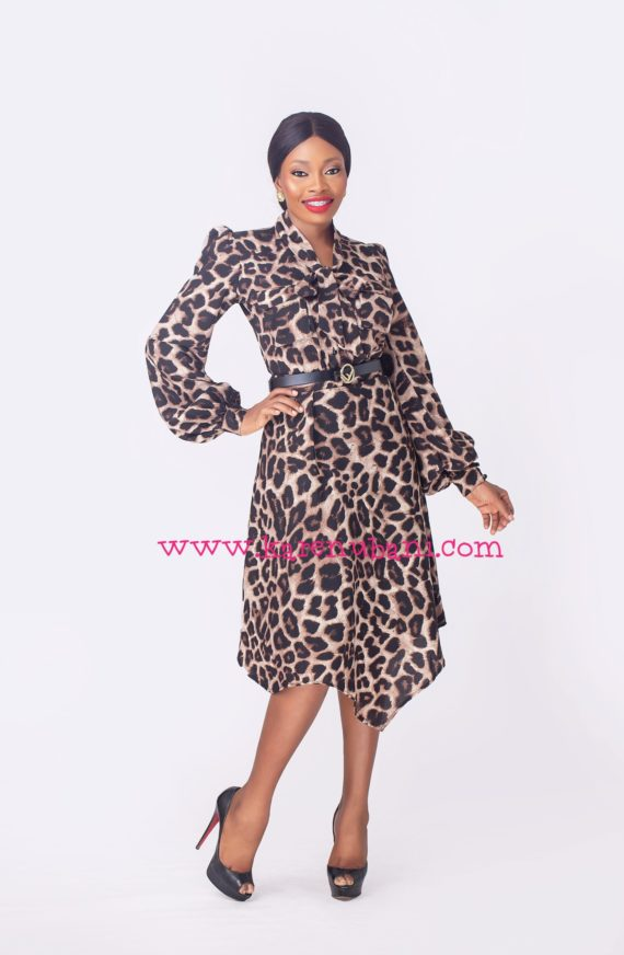 The Bey Two Piece- Animal Print 2