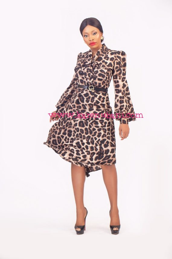 The Bey Two Piece- Animal Print 1