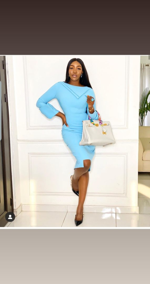 Royal Ascot Dress in Powder Blue 1