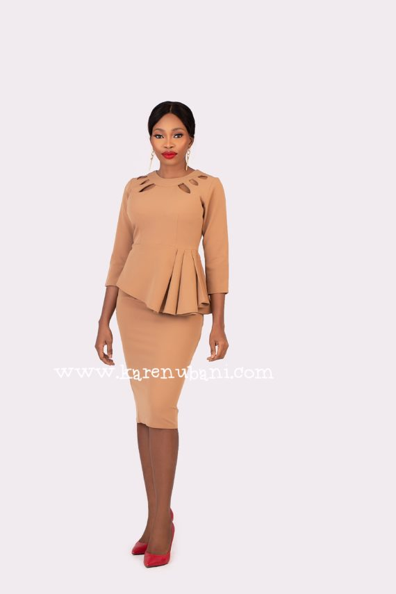 The Nancy 2pc Suit in Nude 2
