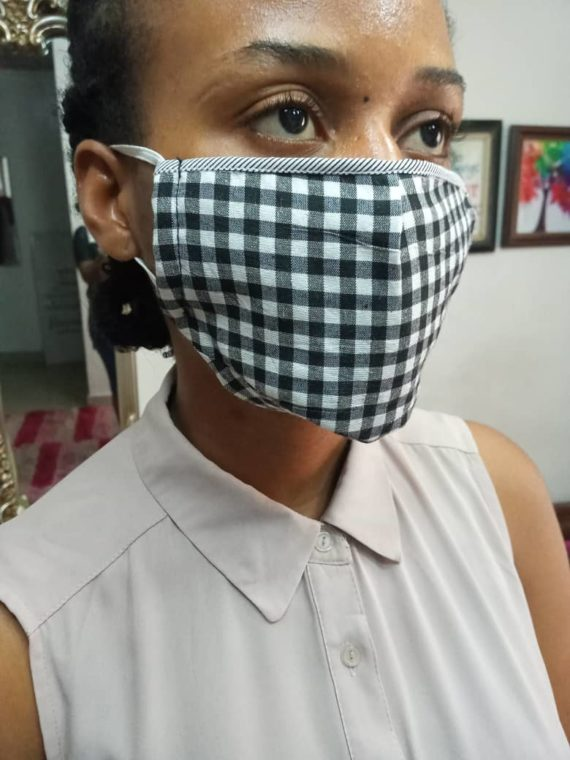 CDC Complaint Fabric Face Mask 1